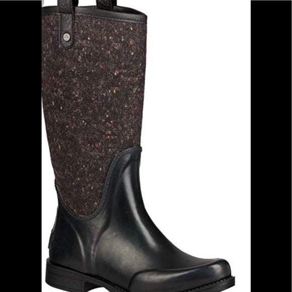 144df5d4f0b NWT! UGG Stefana Waterproof Rubber Boot NWT